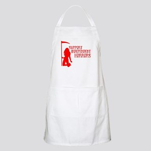 Support Independent Horrors BBQ Apron