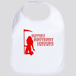 Support Independent Horrors Bib