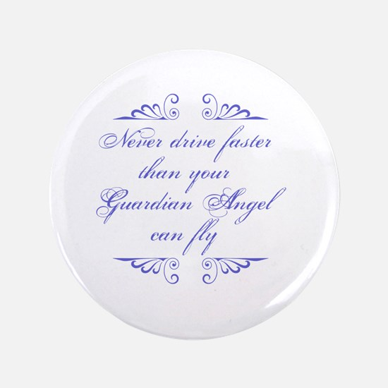 Guardian Angel Humor Button