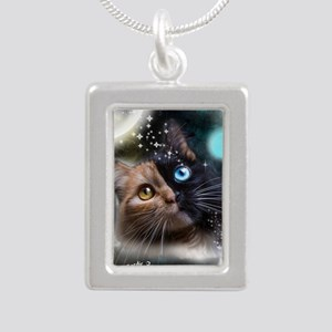 space kitty Necklaces