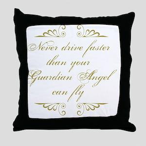 Guardian Angel Humor Throw Pillow