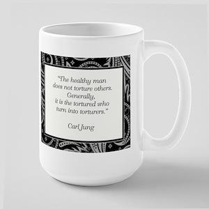 THE HEALTHY MAN... Large Mug