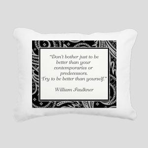 DON'T BOTHER JUST... Rectangular Canvas Pillow