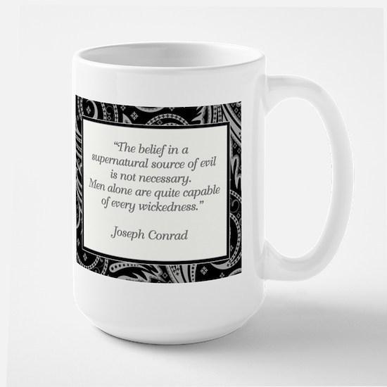 THE BELIEF IN... Large Mug