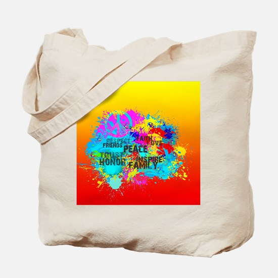Bright Burst of Colorful Inspiration Tote Bag