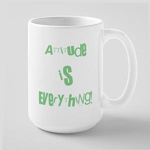 ATTITUDE IS EVERYTHING! 15 oz Ceramic Large Mug