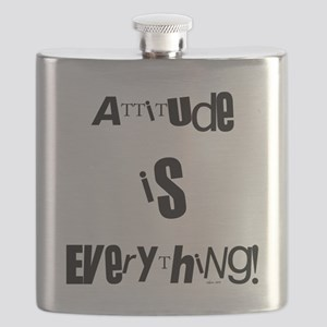 attitude black Flask