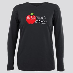 Safe Word Plus Size Long Sleeve Tee
