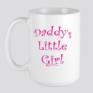 Daddy's Little Girl Large Mug