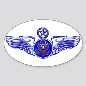Chief Enlisted Crew Badge Oval Sticker