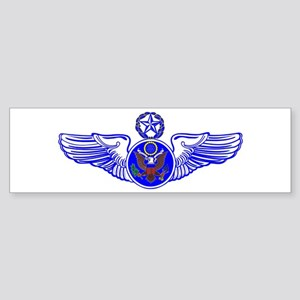 Chief Enlisted Crew Badge Bumper Sticker