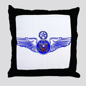 Chief Enlisted Crew Badge Throw Pillow