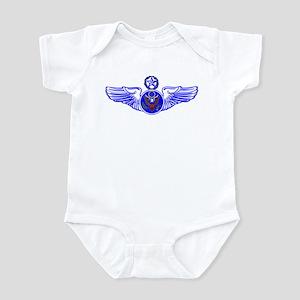 Chief Enlisted Crew Badge Infant Bodysuit