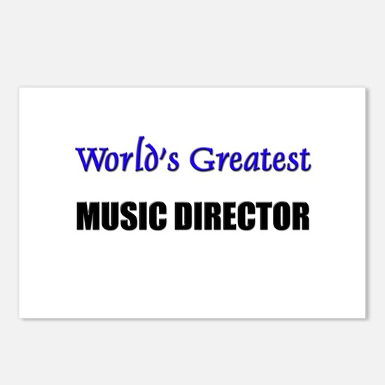 Worlds Greatest MUSIC DIRECTOR Postcards (Package