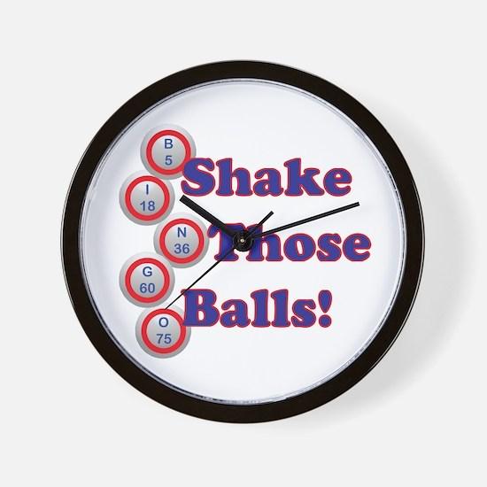 Bingo Shake Wall Clock