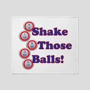Bingo Shake Throw Blanket