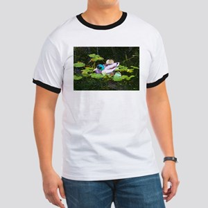 Mallard duck in a pond T-Shirt