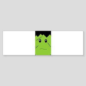 Sad Frank(enstein) Bumper Sticker