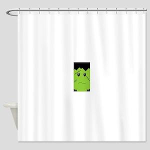 Sad Frankenstein Shower Curtain