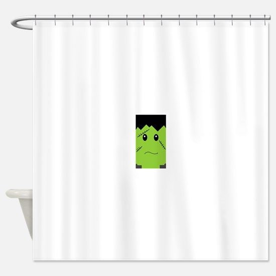 Sad Frank(enstein) Shower Curtain