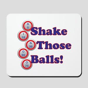 Bingo Shake Mousepad