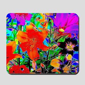 Colorful Lilies Mousepad