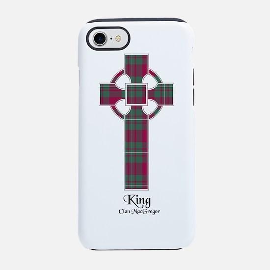 Cross-King.MacGregor iPhone 8/7 Tough Case