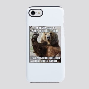 humorous bear iPhone 8/7 Tough Case