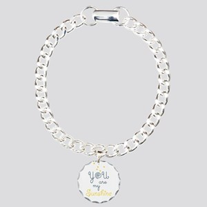 you are my sunshine Charm Bracelet, One Charm