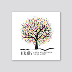 Teacher appreciation quote Sticker
