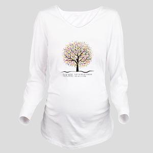 Teacher appreciation Long Sleeve Maternity T-Shirt