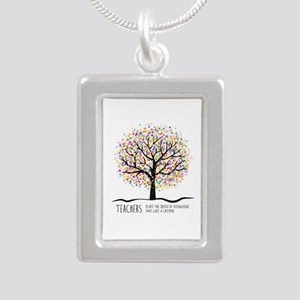 Teacher appreciation quote Necklaces