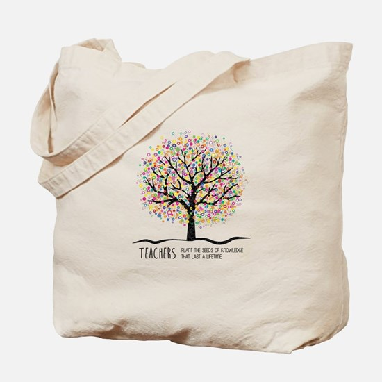 Teacher appreciation quote Tote Bag