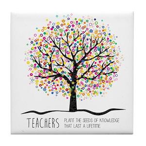 Teacher Quotes Coasters Cafepress