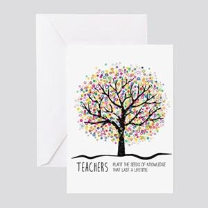 Greeting cards cafepress teacher appreciation quote greeting cards m4hsunfo