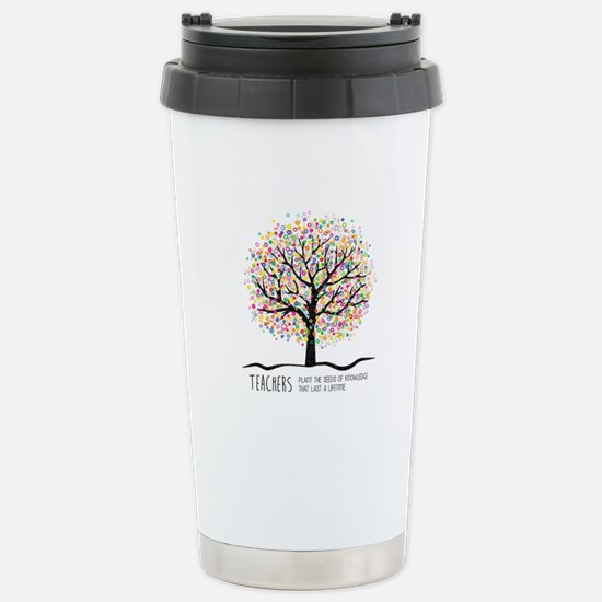 Teacher appreciation qu Stainless Steel Travel Mug