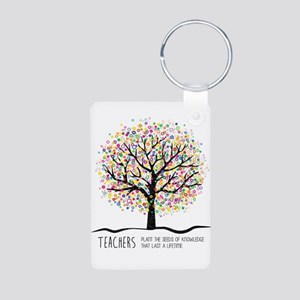 Teacher appreciation quote Keychains