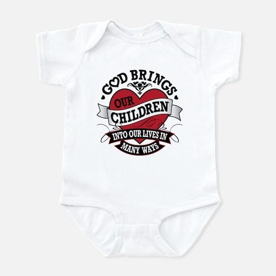 Adoption Tattoo Infant Bodysuit