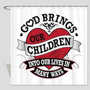Adoption Tattoo Shower Curtain