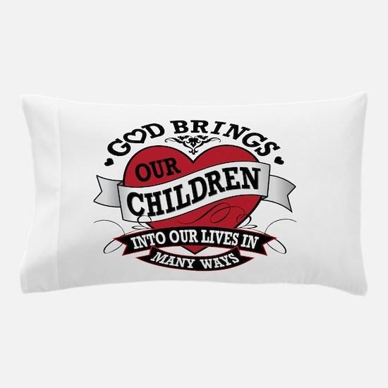 Adoption Tattoo Pillow Case