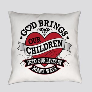 Adoption Tattoo Everyday Pillow
