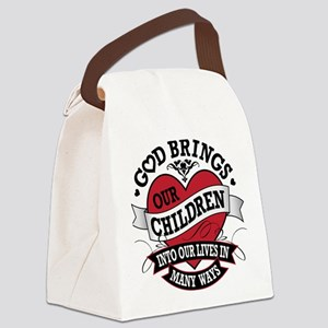 Adoption Tattoo Canvas Lunch Bag