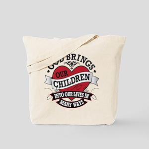 Adoption Tattoo Tote Bag