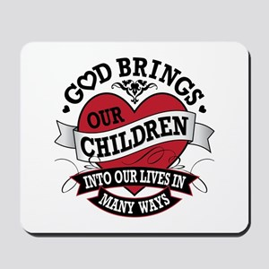 Adoption Tattoo Mousepad