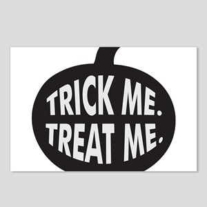 Trick Me Treat Me B/W Postcards (Package of 8)