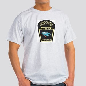 PA State Police CARS Light T-Shirt