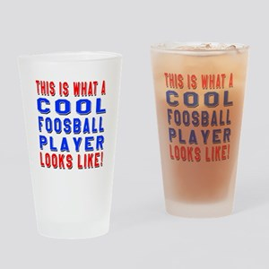 Foosball Player Looks Like Drinking Glass