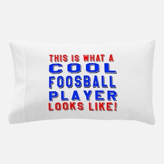 Foosball Player Looks Like Pillow Case