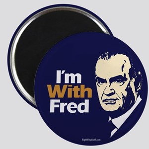 "I'm With Fred 2.25"" Magnet (10 pack)"