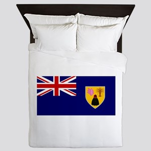 Turks and Caicos Islands Queen Duvet